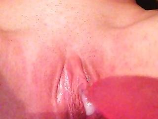 Squirting While Masturbating To Porn. Watch My Pussy Throb