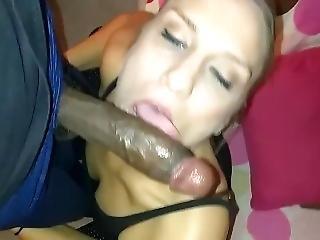 This Slut Sucks On My Schlong So Swell