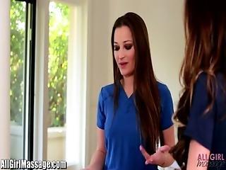 All Girl Massage Cop Kortney Kane Trades Dani Sex For Silence