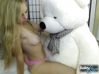 Giant Teddy Bear Humping