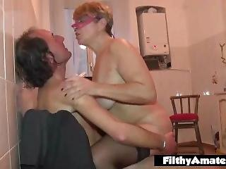 Pissing On A Milf! Nasty Filthy Amateur Orgy!