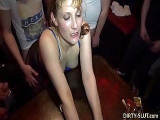 Naughty Wife Nicole Gangbanged By Plenty Of Men