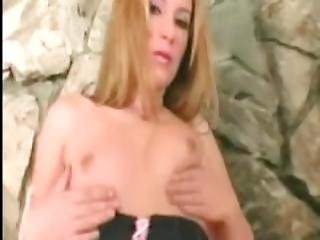 rubia, blowjob, clínica, chupar pene, cumshot, pene, facial, sexando, lingerie, masturbación, enfermera, tetas pequeñas, media, chupando, bromeando, correa