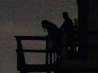 Couple Caught Having Fun At The Beach