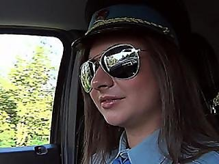 Charming And Brunette Latoya A Police Officer Gets Fucked By Dude