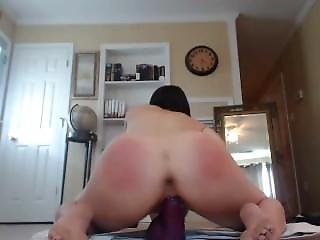 Amateur, Ass, Big Ass, Cam Girl, Dark, Dark Hair, Dildo, Masturbation, Webcam