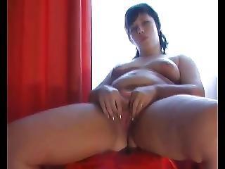 Fat Bbw Ex Gf Fingering Pink Wet Shaven Pussy