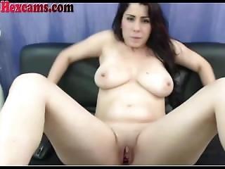 Hot Webcam Teen Drinks Her Own Milk