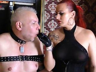 Cock Teasing Redhead Mistress