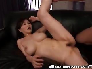 Anri Okita Rough Threesome