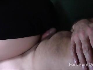 Girl Farts On Guys Dick