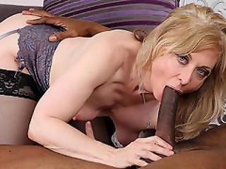Milfgonzo Mature Blonde Beauty Nina Hartley Stuffed By A Bbc