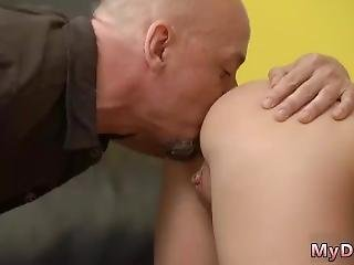Old Doctor Fucks Teen Patient Would You Pole-dance On My Dick?