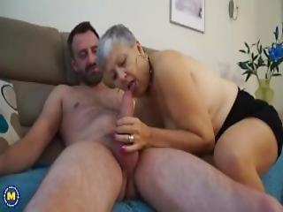British Mature Lady Fucking And Sucking