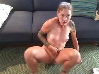 Butt Plug Masturbation Orgasam