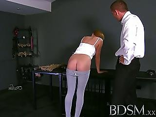 Bdsm Xxx Innocent Teen Sub Gets Shock Of Her Life