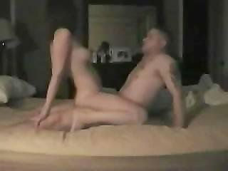 Lonely Wife Fucks College Student