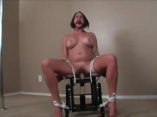 Chairtied And Naked
