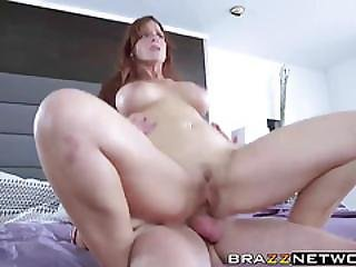 Hot Big Ass Stepmom Railed Hard By Three Big Dick Dudes