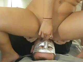 Lexi Love Femdom Face Sitting Orgasm With Asshole And Pussy Licking