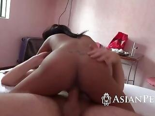 Teen With Big Tits Riding Delicious Cock