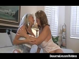 Busty Wife Deauxma Watches Hubby Anal Fuck Sally D Angelo