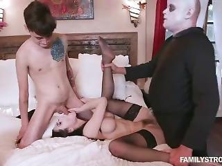 Addams Step Family Orgy Full