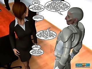 3d Comic The Cockroach. Episode 4