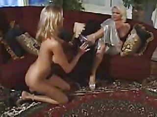 Aunt Kisses His Marvelous Whore