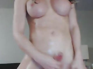 Wild And Horny Shemale Babe Loves To Masturbate