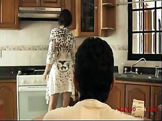 Angi Ramirez Se Folla A Un Chico En La Cocina Part 1