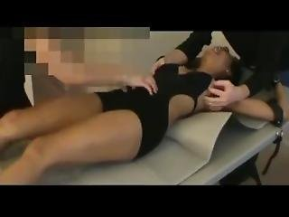 Courtney Babb Tickled On Her Upperbody In A Swimsuit
