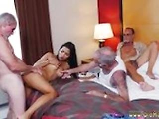 Old man blowjob xxx Staycation with a Latin