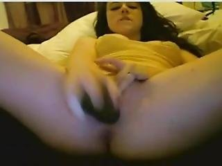 Hot Sexy Babe Licking Showing Pussy And Boobs On Webcam