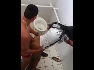 Young Boy Fucking His Girlfriend In School