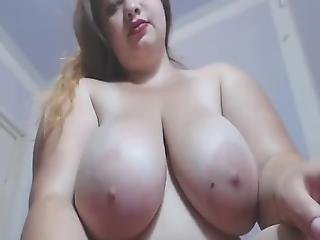 Chunky Horny Teen Cumming