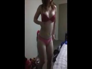 rotschopf große titten striptease