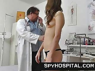 Skinny Teen Physical Exam On Hidden Cam Video