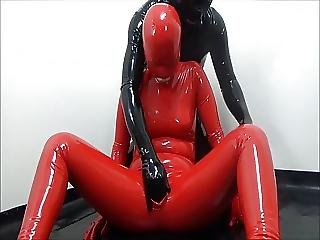 Asian, Bdsm, Latex