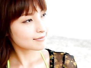 Hasegawa Momoka Yellow Bikini