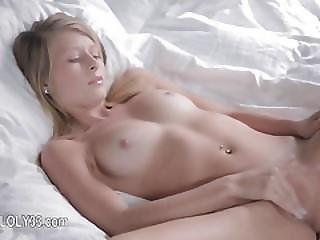 Undressing And Masturbating Ultracute Girl