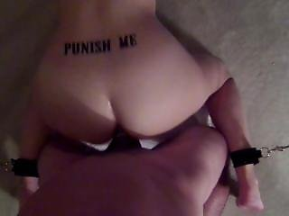 Bound Slave Fucked Doggie Style With Butt Plug