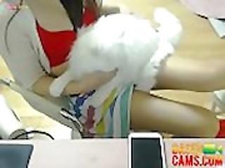 Sexy Korean Teases and Sucks on Popsicle - BasedCamsCom