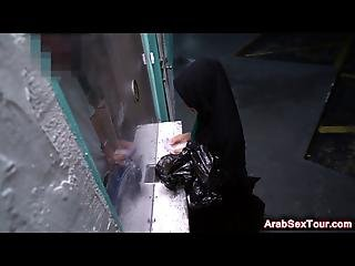 Delicious Arab Babe Getting A Large Loaded Piston Stretch Her Perfect Ass