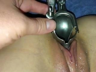 Drinking Wine From My Wife�s Pussy