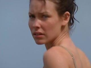 Evangeline Lilly In Bra & Panties [best Quality] (lost S01e02)