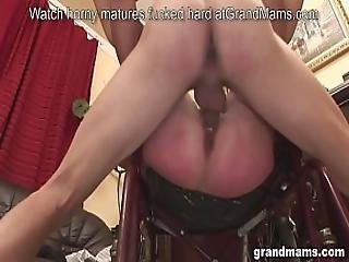 Old Grandma In Wheelchair Gets Healed By Hard Young Dick