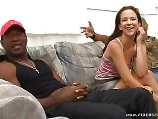 Black Cocks White Sluts 3 Scene 3