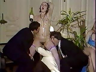 Champagne, Groupsex, Hairy, Sex, Stocking, Swingers, Vintage