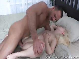 Casual Teen Sex - Petite Teeny Who Loves Cock